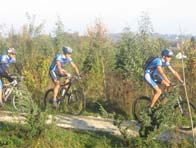 Mountainbike rond de Mont Saint-Aubert